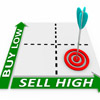 Buy low, sell high - part of having an overall, well-defined, trading plan.
